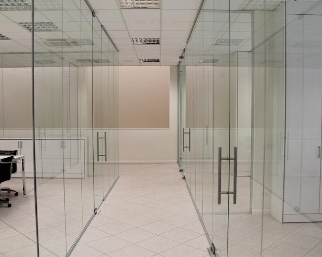 Pareti in vetro per ufficio Foto 2