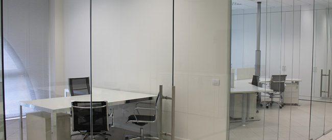 Pareti mobili Pareti in vetro Pareti in vetro per ufficio