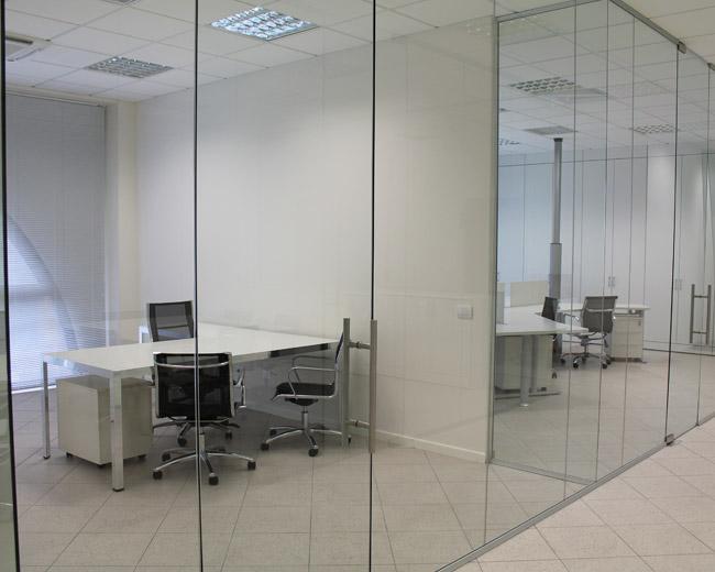 Pareti in vetro per ufficio Foto 1