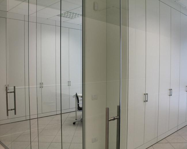 Pareti in vetro per ufficio Foto 16