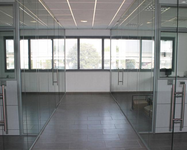 Pareti in vetro per ufficio Foto 20