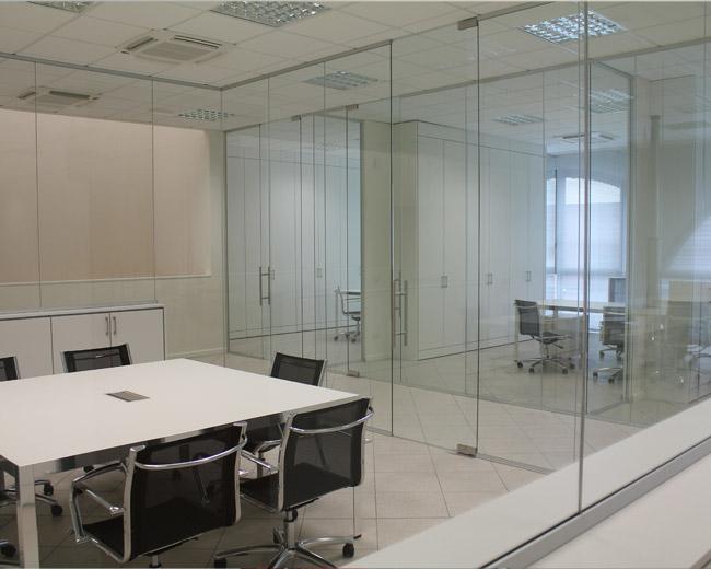 Pareti in vetro per ufficio Foto 23