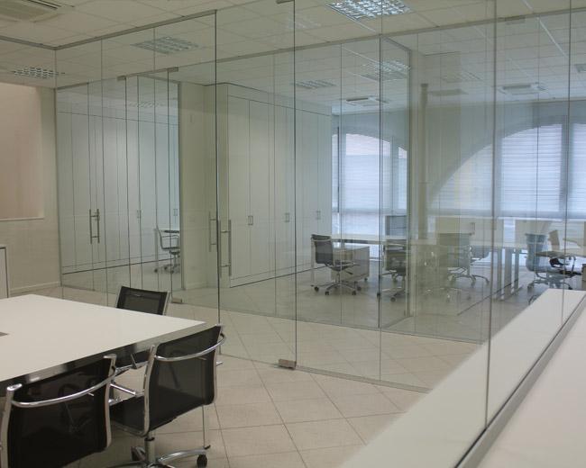 Pareti in vetro per ufficio Foto 5