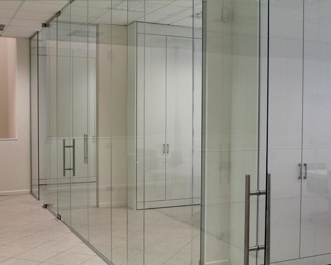 Pareti in vetro per ufficio Foto 7