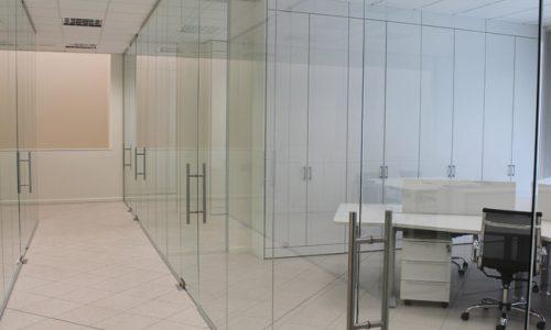 Pareti in vetro per ufficio Foto 10