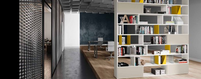 Office Furniture Bookshelves and Cabinets Space