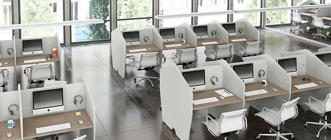 Arredi ufficio Arredamento Call Center Fuji