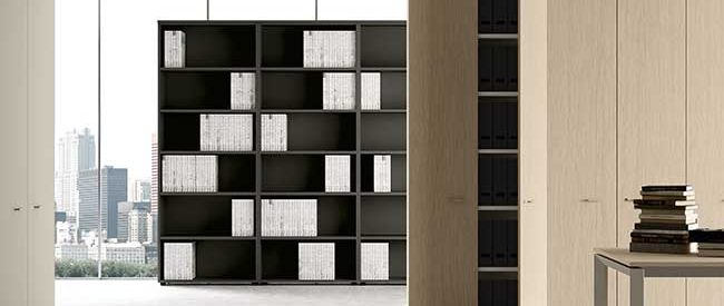 Office Furniture Bookshelves and Cabinets Essential Containers