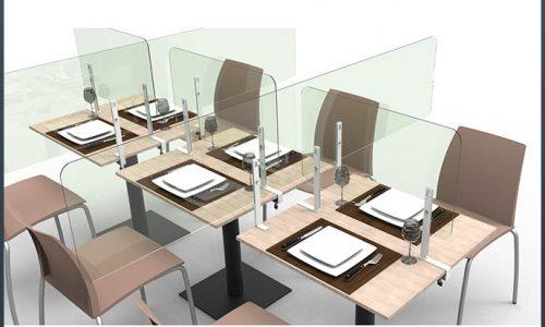 Barriere parafiato uffici – negozi – ristoranti Foto 24